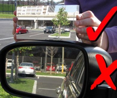 Driving Tip – Mirror Adjustment